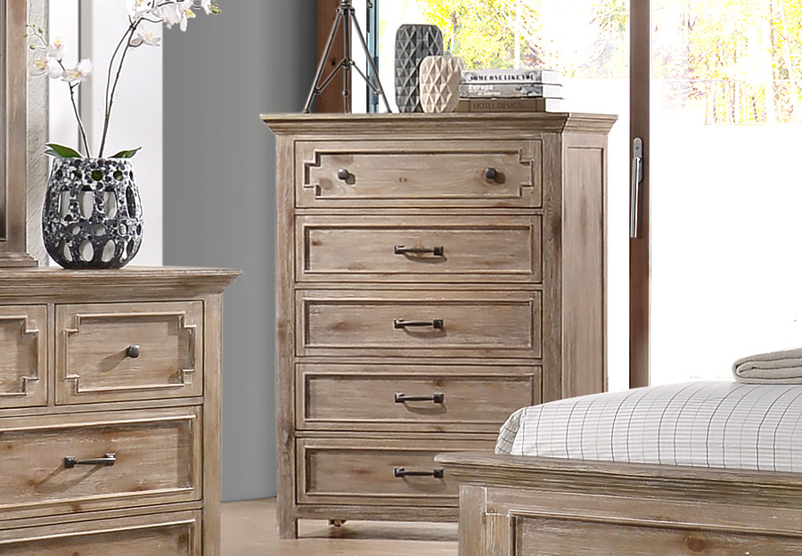Lane Sante Fe Natural Five Drawer Chest
