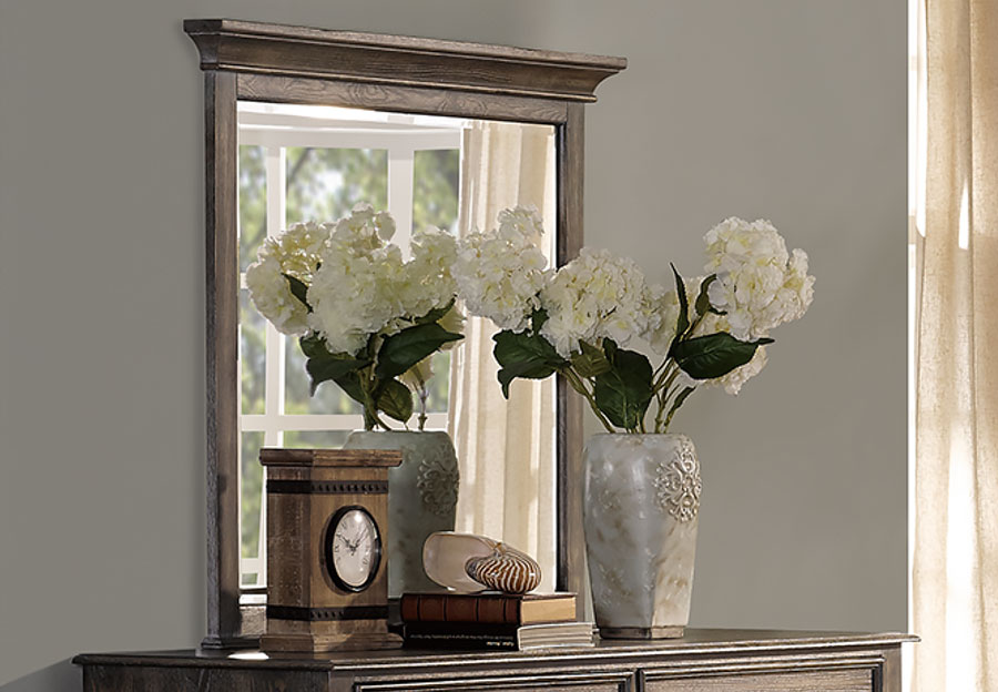 New Classic Lakeport Pewter Mirror