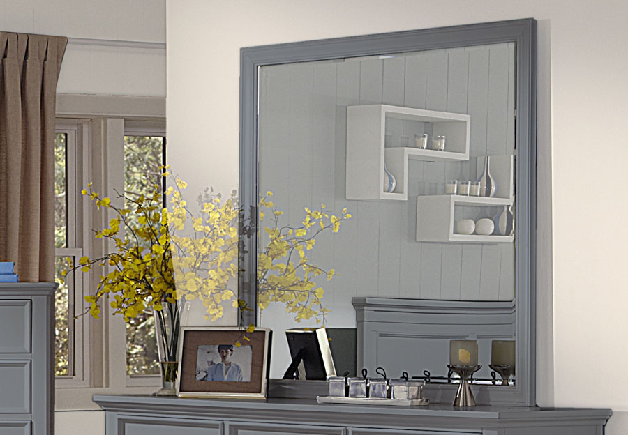 New Classic Tamarack Gray Mirror
