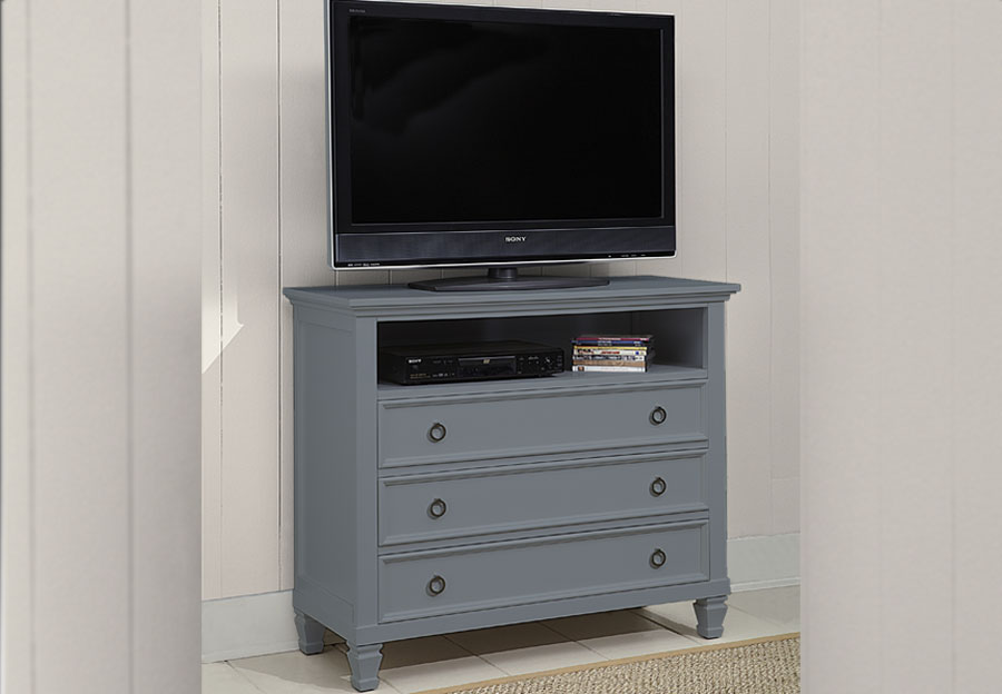 New Classic Tamarack Gray Media Chest