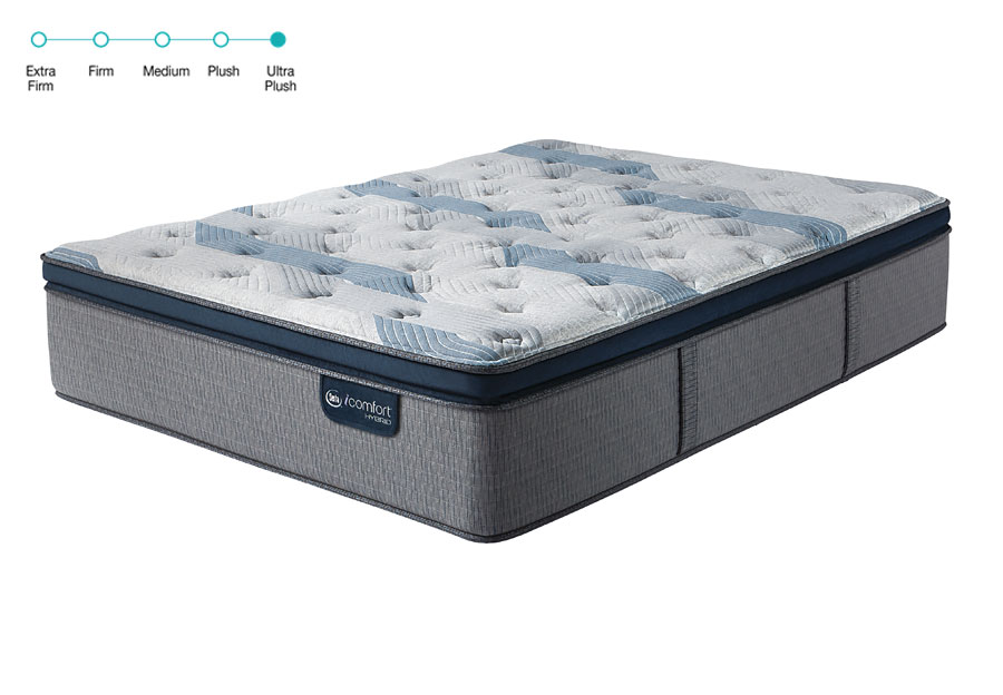 Serta iComfort Hybrid Blue Fusion 300 Ultra Plush Pillowtop Twin Mattress