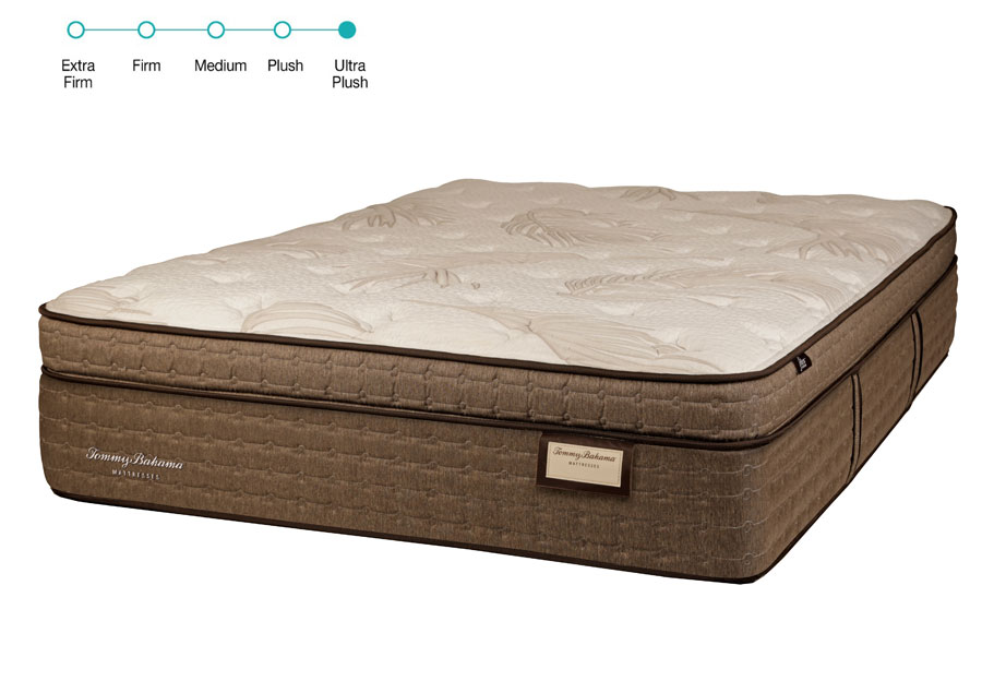 Tommy Bahama Queen Tahiti Tranquility Euro Top Ultra Plush Mattress