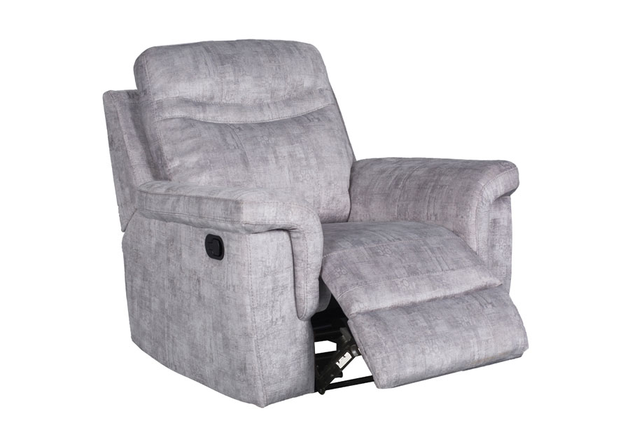 Global Cappa Grey Manual Glider Recliner