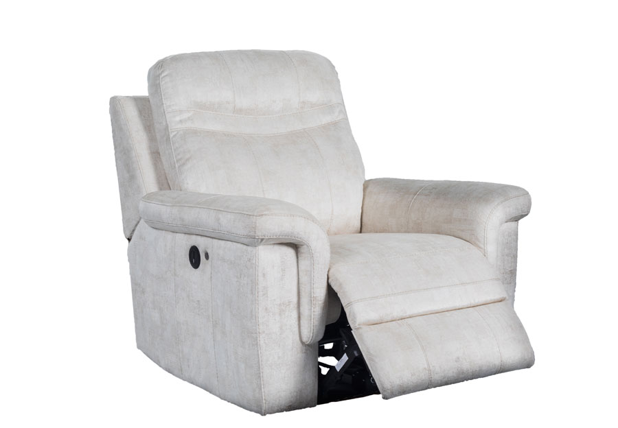 Global Cappa Beige Power Recliner