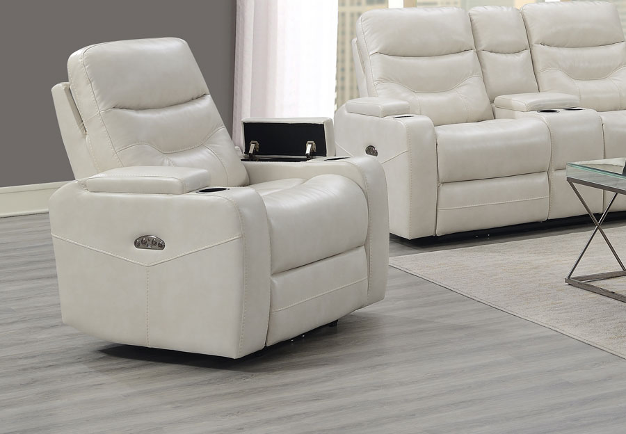 Trend Jackson Transformer Cream Dual Power Recliner