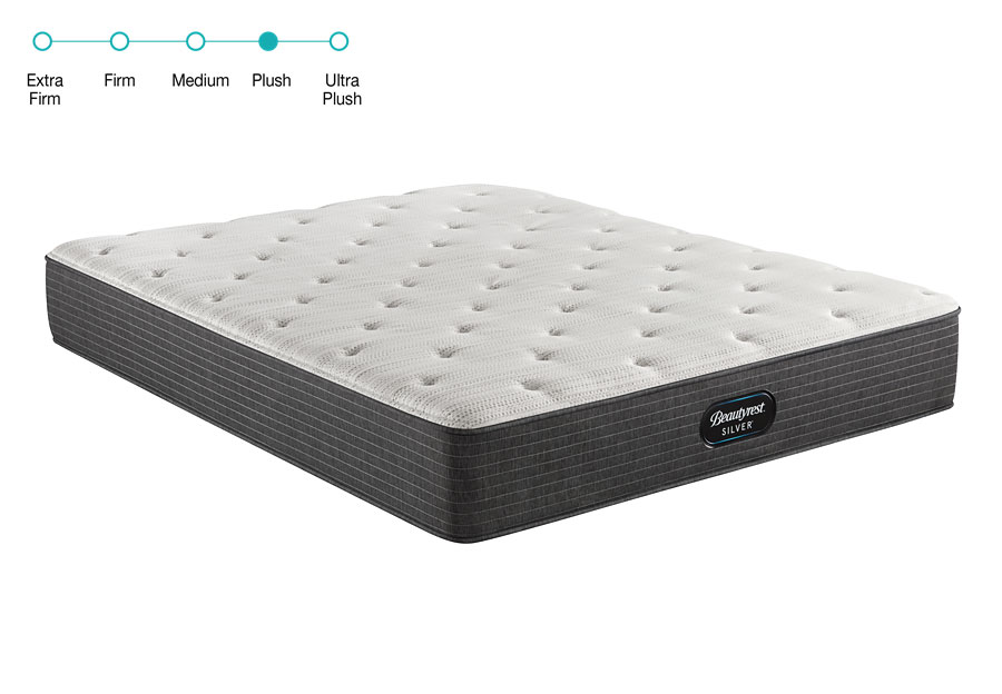 Simmons Beautyrest Silver BRS900 Bold Plush Twin Mattress