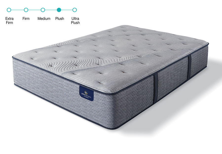 Serta Perfect Sleeper Twin Delevan II Plush Mattress