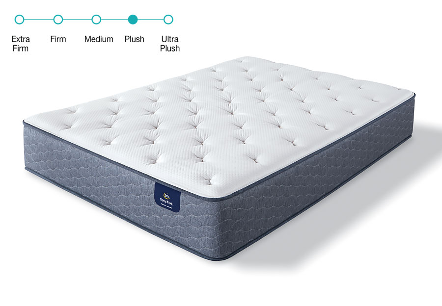 Serta Sleeptrue Twin Carterson II Plush Mattress
