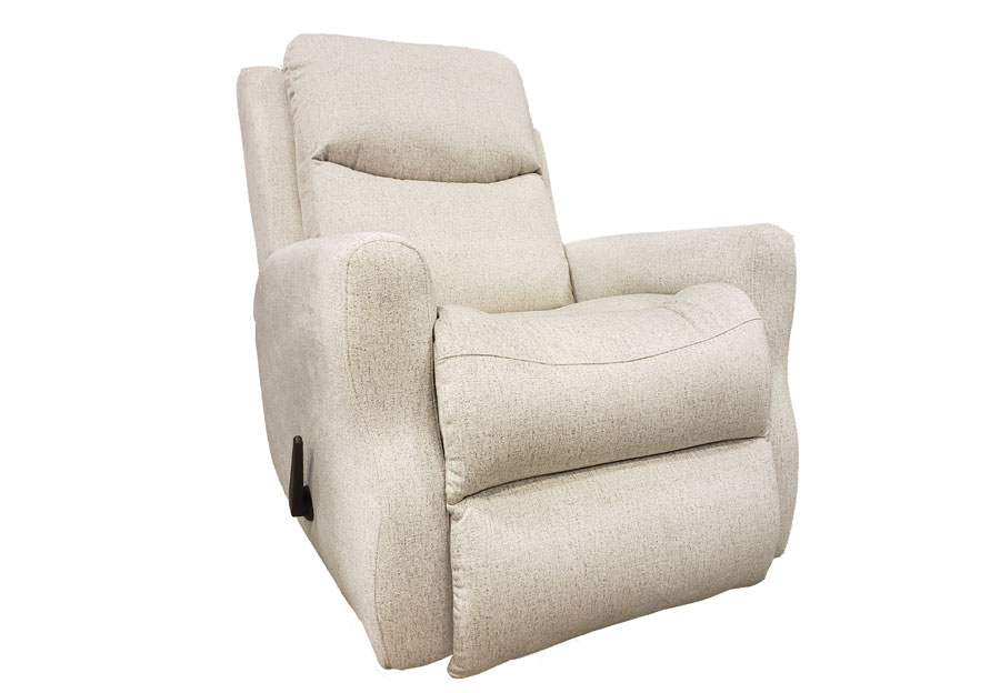 Southern Motion Fame Rocker Recliner in Cyber Pearl Fabric