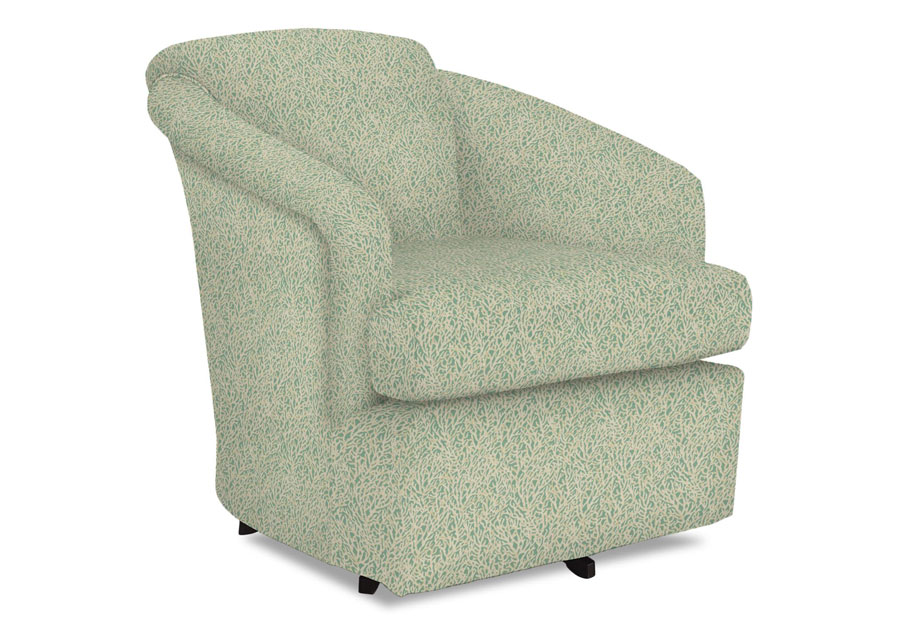 Best Cass Seaglass Swivel Chair