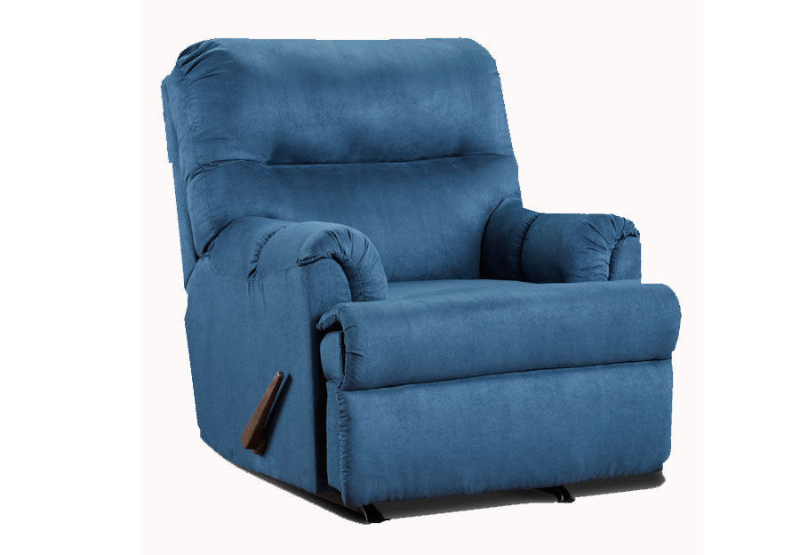 Affordable Furniture Sensations Cobalt Recliner