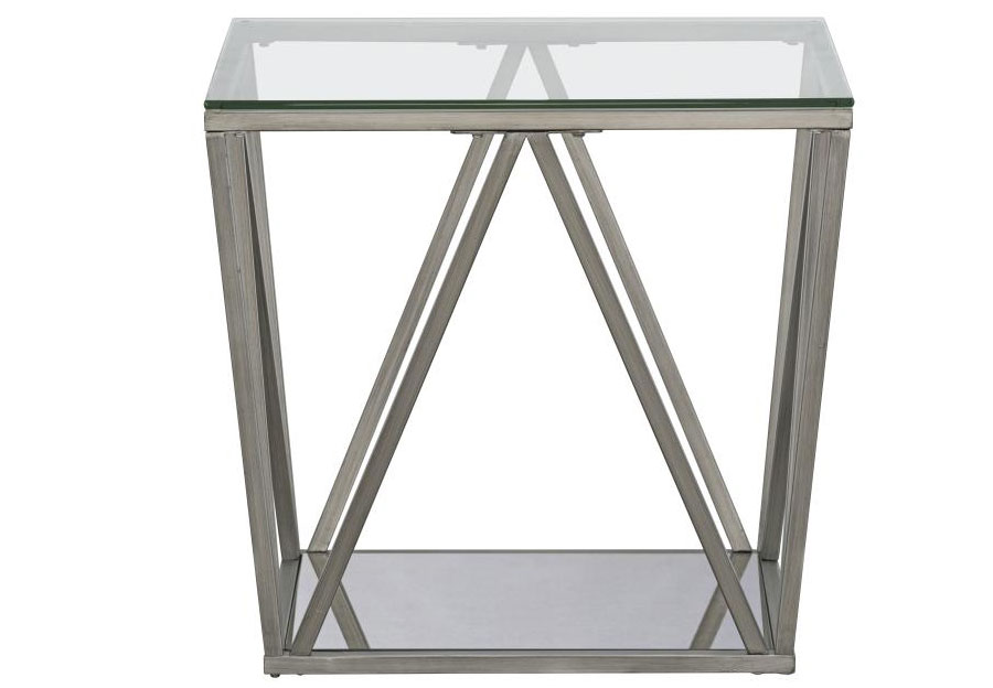 Standard Kendra End Table with Glass