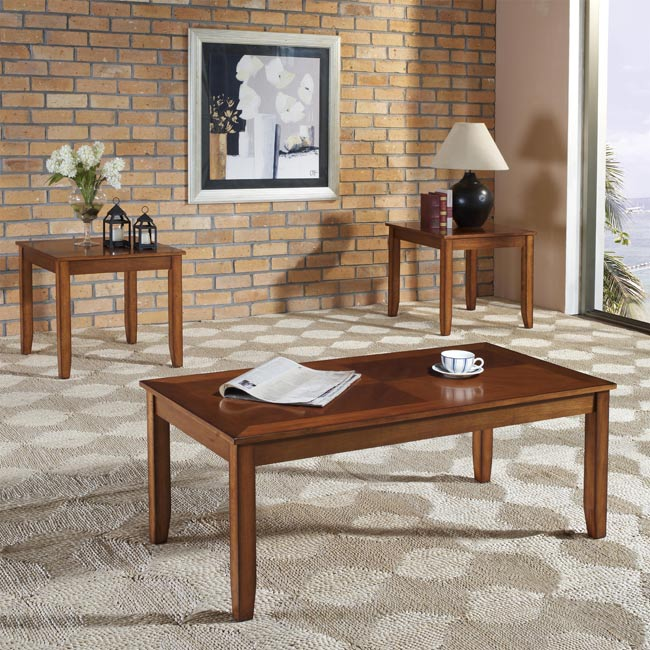 Standard Brantley 3pc Occasional Tables