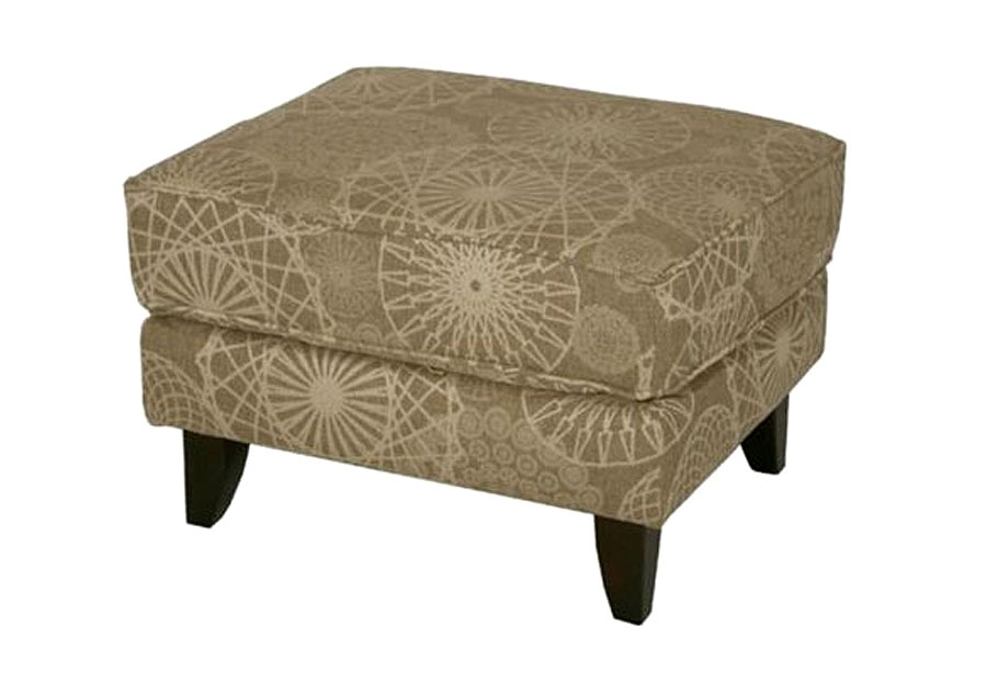 Fusion Furniture Spriograph Ottoman