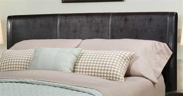 Standard New York Brown Upholstered Queen Headboard
