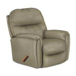 Best Markson Beigewoode Rocker Recliner Leather Match