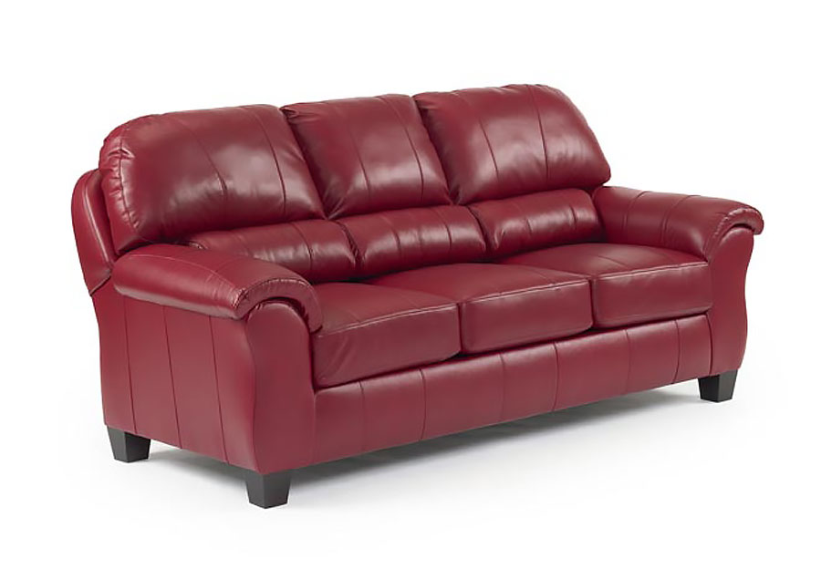 Best Birkett Burgundy Red Sofa Leather Match
