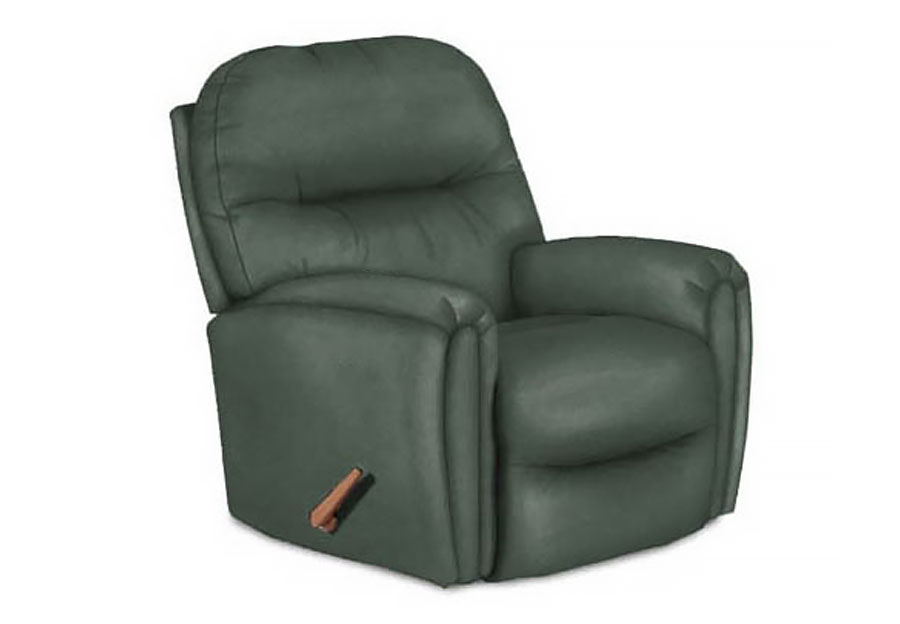 Best Markson Storm Rocker Recliner Leather Match