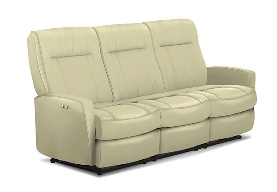 Best Costilla Taupe Power Reclining Sofa Performance Blend